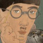 Foujita autoportrait au chat