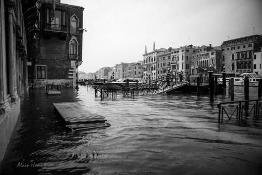Venise acqua alta 20 octobre 2018