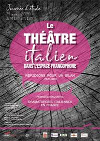 Journée études Dramaturgies italiennes en France
