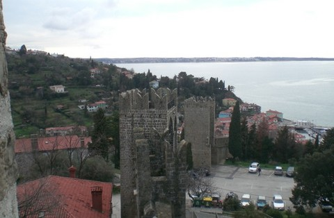 le mura di Pirano