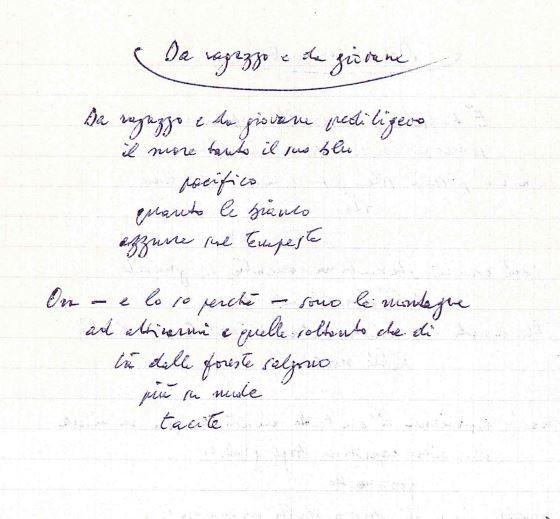le poesie di Giorgio Bassani dal particolare all'universale