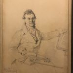 """Jean-Auguste-Dominique Ingres (1780-1867), """"Ritratto di Pierre Baillot""""."""