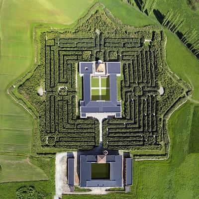 Il Labirinto visto dall'alto