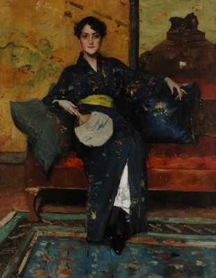 WILLIAM MERRITT CHASE, A Comfortable Corner (1888 c.) © Parrish Art Museum