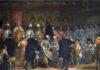Gabriele Caliari - Il doge Marino Grimani riceve i doni degli ambasciatori persiani nel 1603