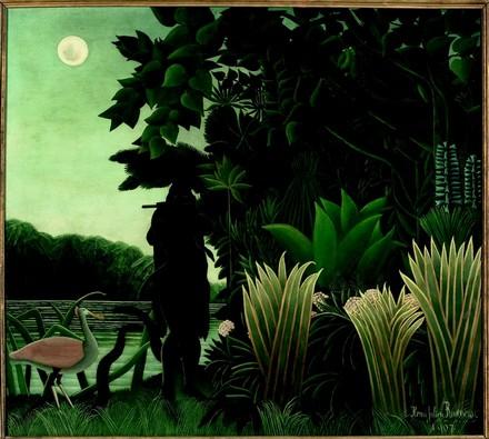 L'incantatrice di serpenti, Henri Rousseau, 1907, Parigi Musée d'Orsay