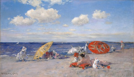 WILLIAM MERRITT CHASE, At The Seaside (1892 c.) © The Metropolitan Museum of Art
