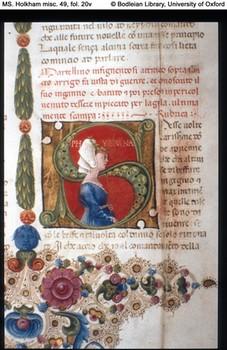 Decameron, Bodleian Library. Università di Oxford.