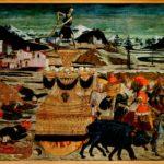 Trionfo della morte, A. di Giovanni detto lo Scheggia, 1465-1470, Siena Museo civico