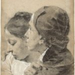Giovanni Battista Piazzetta, Due giovani amanti , ca. 1743