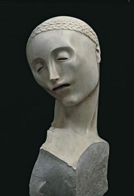 Adolfo Wildt, La mère.