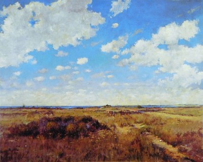 WILLIAM MERRITT CHASE Flying Clouds (1892) © Private collection