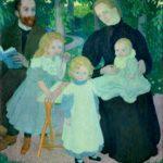 La famiglia Mellerio, Maurice Denis, 1897, Parigi, Musée d'Orsay