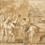 Giandomenico Tiepolo, Pulcinella liberato, 1798/1802