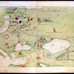 Battista Agnese - Atlante nautico in 33 carte, 1553 tav. XVII