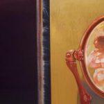 Leonardo Cremonini, Il desiderio e la notte, 1983, tempéra, aquarelle