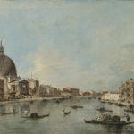 V. Canal Grande con San Simeone piccolo e Santa Lucia