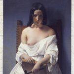 Francesco Hayez, La Meditazione (L'Italia del 1848), 1851, Verona, Galleria d'Arte Moderna Achille Forti