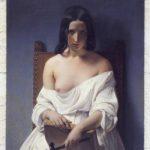 Francesco Hayez, La Méditation (L'Italie de 1848), 1851, Vérone, Galleria d'Arte Moderna Achille Forti