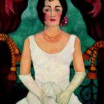 Ritratto di donna in bianco, Frida Kahlo, 1929, Berlino Collezione privata