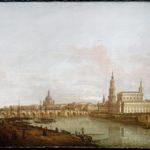 Dresda : il ponte di Augusto dalla riva destra dell'Elba - Londra, Rafael Valls Ltd.