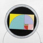 Nel cerchio la divina proporzione, 2012, cm 50x50