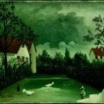 Il cortile, Henri Rousseau, 1896-1898, Parigi Centre Pompidou