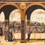 Le false nozze di Gualtieri (particolare), Luca Signorelli, Londra