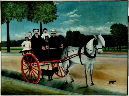 Il biroccino di papà Junier, Henri Rousseau, 1908, Parigi Musée de l'Orangerie