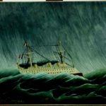 Transatlantico in tempesta, Henri Rousseau, 1899, Parigi Musée de l'Orangerie