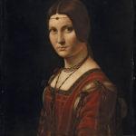 Leonardo da V., La Belle Ferronnière, Louvre