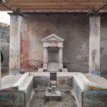 Triclinio estivo. Casa dell'Efebo, Pompei