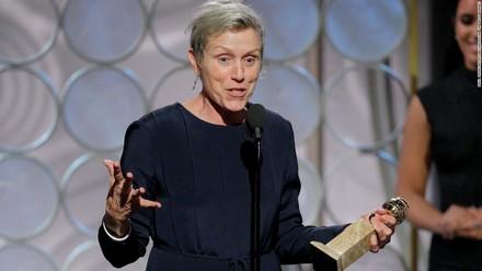 Un Golden Globe a Frances McDormand, miglior attrice drammatica