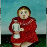Bambina con bambola, Henri Rousseau, 1905, Parigi Musée de l'Orangerie