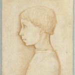 Giovanni Badile, Profilo di fanciullo, anni quaranta del XV secolo
