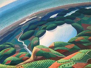 Virata su fiumi, lago, mare, 1934,
