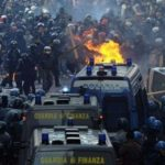 Scontri a Roma per diffendere il diritto allo studio © AP