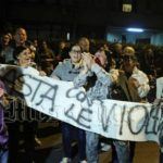 Manifestazione antimmigrati a Tor Sapienza - Roma