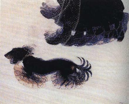 dinamismo di un cane al guinzaglio - Giacomo Balla
