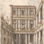 Canaletto, Corte veneziana alle Procuratie Nuove, ca. 1760