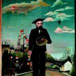 Io: ritrattopaesaggio, Henri Rousseau, 1890, Praga, Narodni galerie
