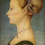 Pollaiuolo, Ragazza di profilo (1470), Museo Poldi Pezzoli (Milano)
