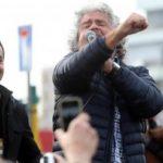 Luigi Di Maio con Beppe Grillo