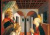 Annonciation avec Saint Julien (Filippo Lippi - Fra Diamante)