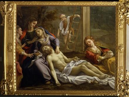 Corrège, Compianto sul Cristo morto, 1523, Parma, Galleria Nazionale
