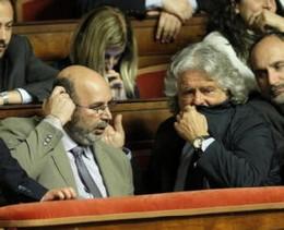 Grillo e Vito Crimidei 5 stelle al consulto.