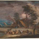 Marco Ricci, Paesaggio tempestoso, ca. 1725