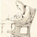 Giambattista Tiepolo, Avvocato veneziano alla sua scrivania, 1755/1760