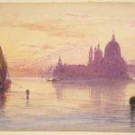 Hercules Edward Lear, Santa Maria della Salute al tramonto, 1865/1884