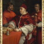Raffaello, Ritratto di papa Leone X, 1517, Firenze, Galleria degli Uffizi